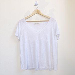 Project Social T | Raw Hem Distressed Shirt